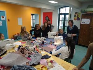 Atelier création textile, de janvier à juin, chaque mercredi
