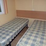 Chambre avec 2 lits (1personne)